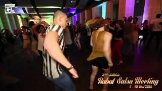 Isabel Freibeger & Glenn - salsa dancing @ RABAT SALSA MEETING 2015