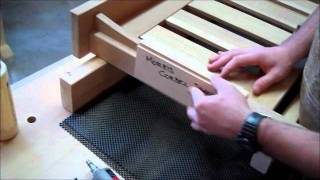 Morris Chair 10 - Installing Corbels.wmv