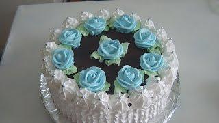 Кремовый торт Лена