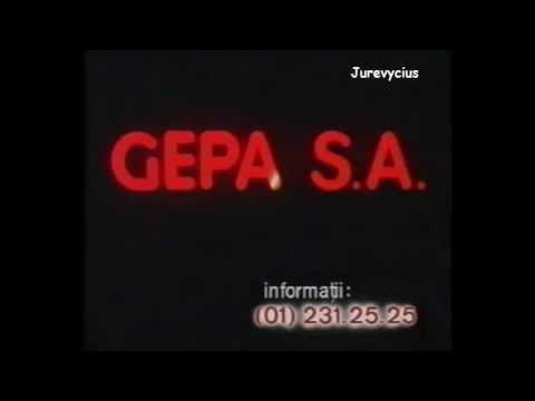 Gepa SA, un pic mai bine, pentru dumneavoastra, reclama (octombrie 1997)