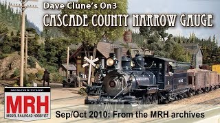 Dave Clune's On3 Cascade County Narrow Gauge