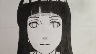 how to draw Hinata