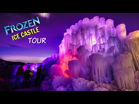 The COOLEST Ice Castle In America!! - HOBO Things To Do In Utah