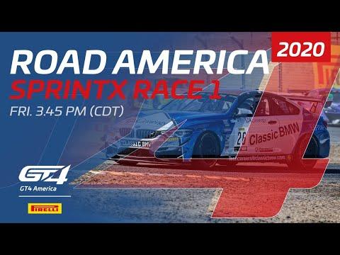 RACE 1 - GT4 SPRINTX - ROAD AMERICA 2020