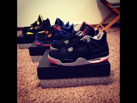Jordan 4 Bred On Feet