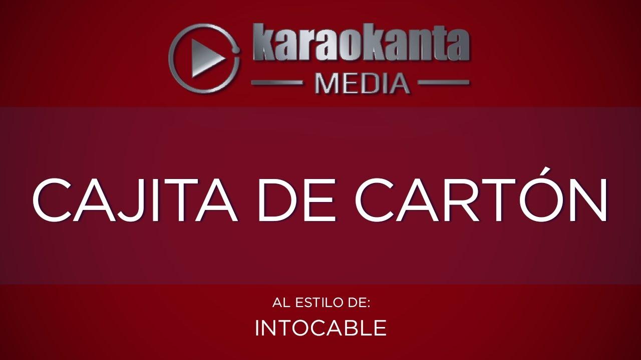 cajita de carton intocable download