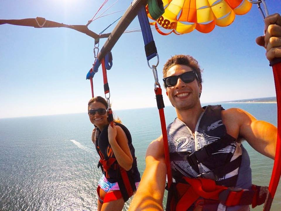Parasailing In Virginia Beach Miketandconnorc