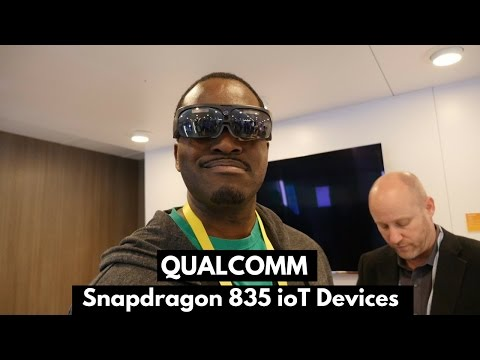 Qualcomm Snapdragon 835 ioT Devices: ODG AR!!!
