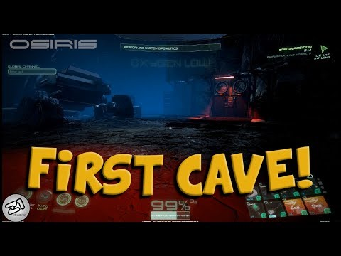 First Dungeon !!! Carbon, Lithium and a KEY CARD ?! Osiris New Dawn Gameplay Z1 Gaming