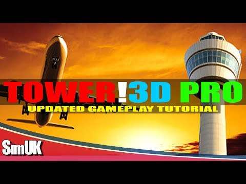 Updated Gameplay! Tower!3D Pro | Beginners Tutorial | St. Thomas Airport | with Double Go Around