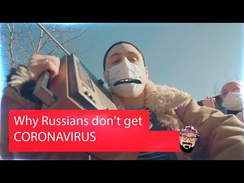 🖖🏻 Иностранец реагирует на Why Russians Don't Get CORONAVIRUS! 100% TRUE