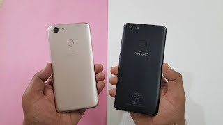 Oppo F5 vs Vivo V7 Plus SPEEDTEST COMPARISON !!