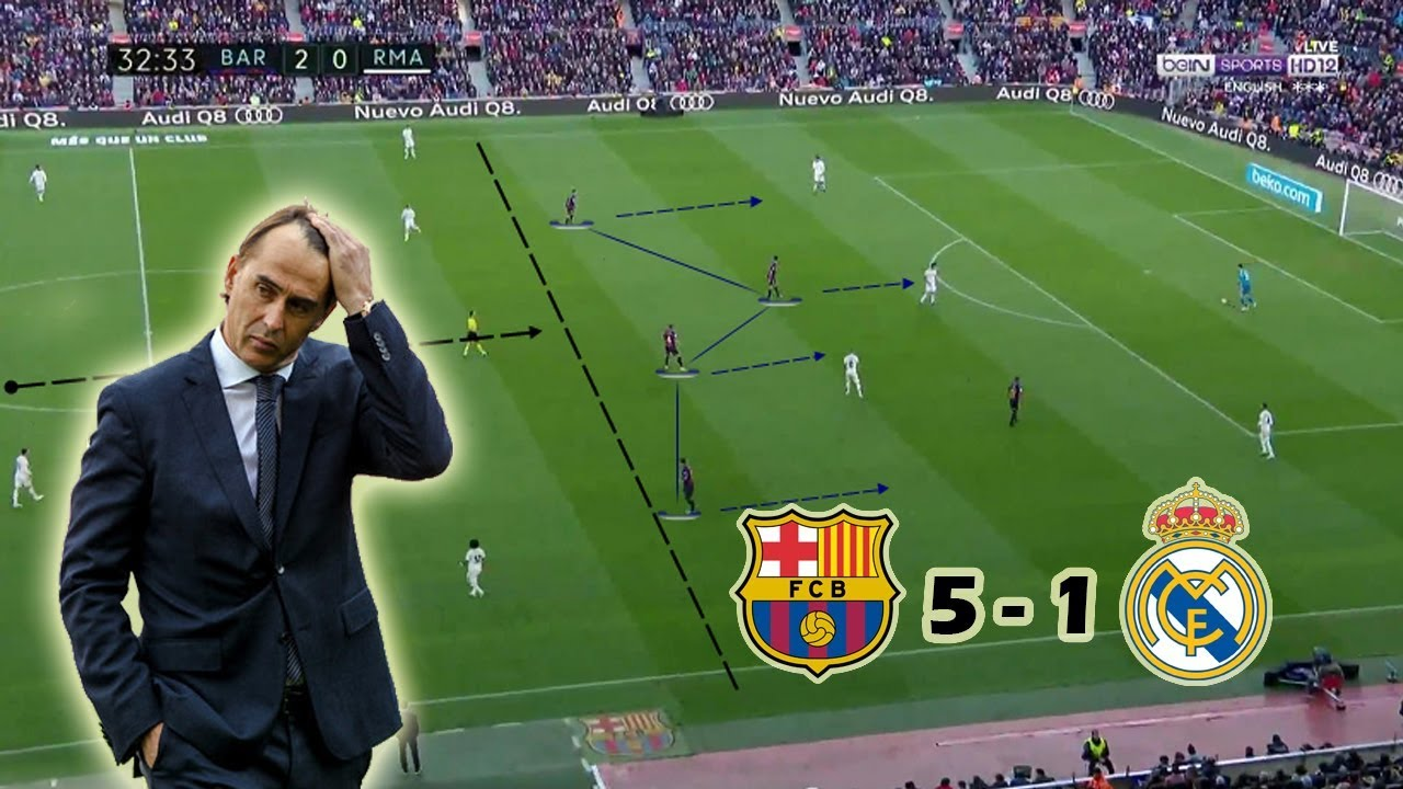 Real Madrid vs. Barcelona - Football Match Report - March ...