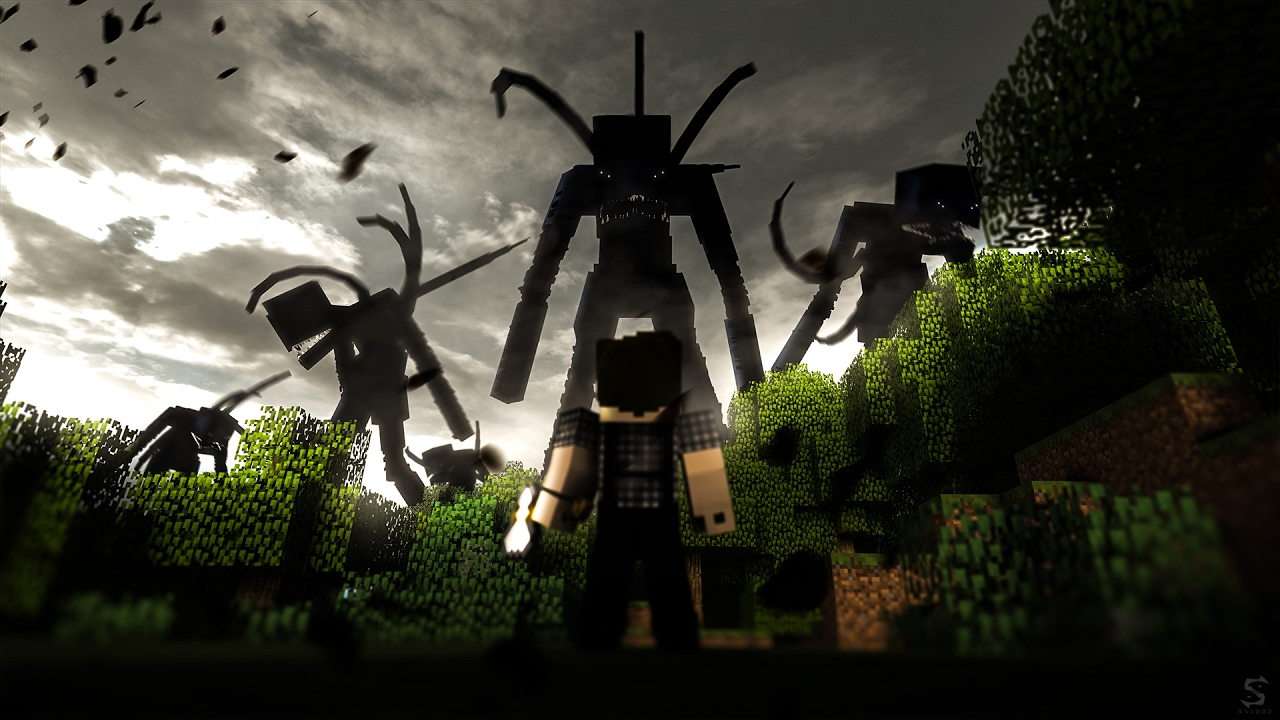 "Speedart 13 || ""The Corrupted Slaves"" [Minecraft Wallpaper]"