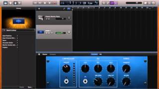 garageband usb mic recording