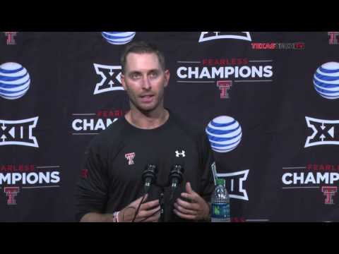 Postgame Press Conference: Kliff Kingsbury