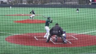 Niagara Baseball vs Manhattan (Daniel Procopio-STRIKE OUT!) Mar 26, 2017