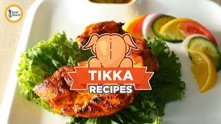 4 Tikka Recipes by Food Fusion
