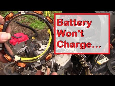 How to Test and Repair a Lawn Tractor Charging System