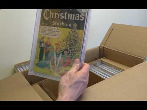 Sell My Comic Books Unboxing CGC Invoice Part 4 of 5