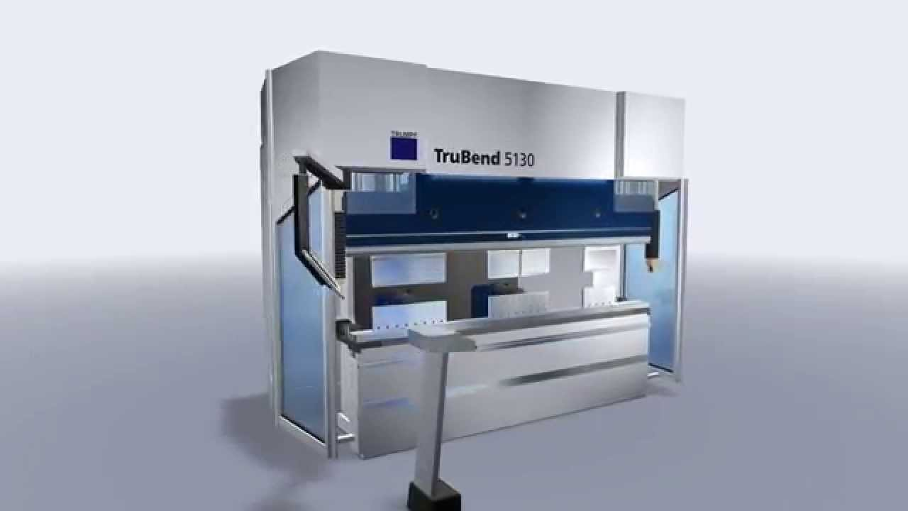 Trumpf Bending Trubend 5130 Machine Concept Youtube