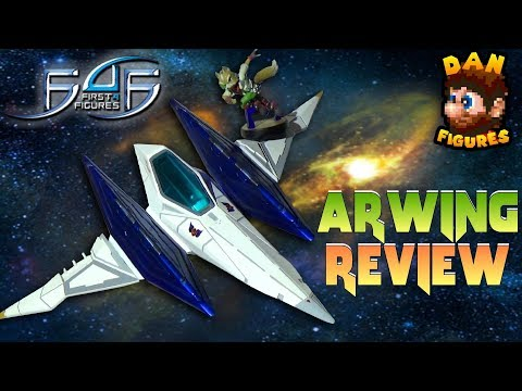 First 4 Figures Arwing | Star Fox Réplica | F4F Review | Dan Figures #25