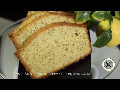 Lemon Saffron Poppy Seed Bread – Bruno Albouze – THE REAL DEAL