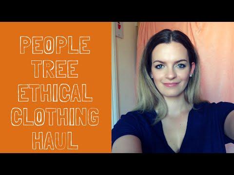 People tree haul | Ethical Clothing Haul | 100% Organic Cotton