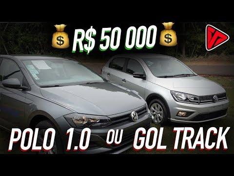 Com 50 Mil Qual carro?! Polo Básico ou Gol Completo?  |Top Speed