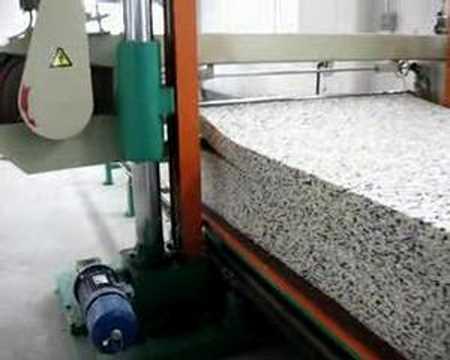 Horizontal Foam Cutting Machine Bonded 2 Youtube