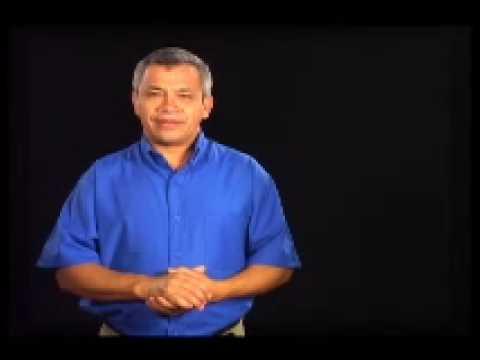 Lenguaje de señas: Vocabulario. Parte 1