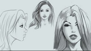 How to Draw Pretty Comic Faces - Save 50%