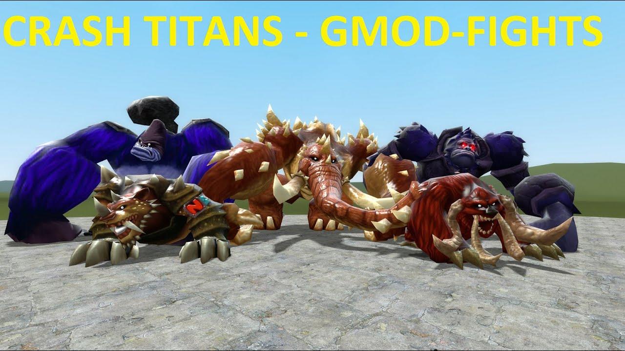 GMOD-FIGHTS: CRASH TITAN NPC'S