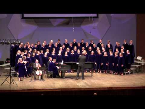 The Concordia Choir - O, My Luve's Like a Red, Red Rose, René Clausen