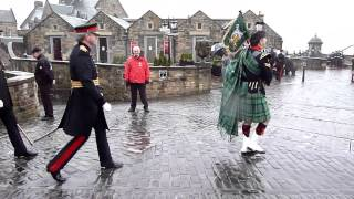 Edinburgh Castle 21-Gun Salute in honour of Prince Charles