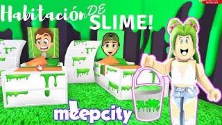 MEEPCITY HABITACIÓN DE SLIME - ROBLOX - ROOM OF SLIME