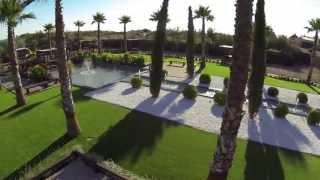 CAMPING OLTRA - Bassin et fontaines par Aquatic Parc Création (Vias)