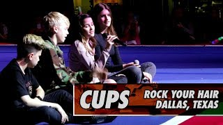"Cups (Pitch Perfect's ""When I'm Gone"") Live at Rock Your Hair in Dallas"