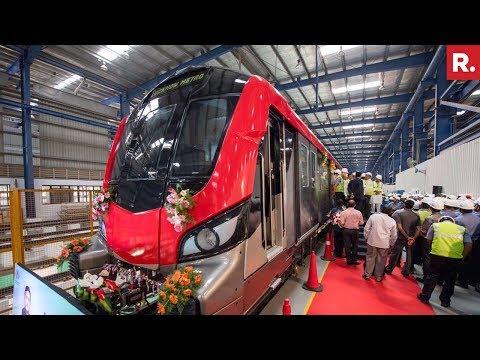 Lucknow Metro Begins Service