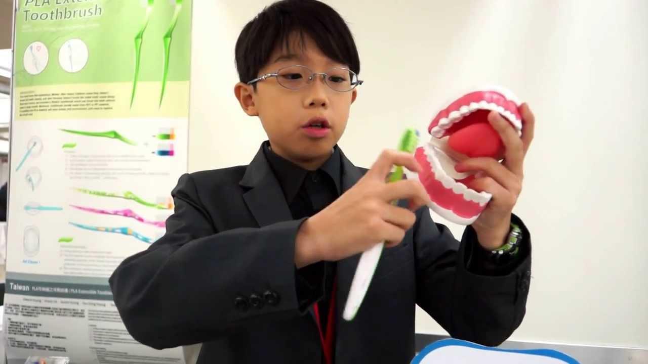 屏東市仁愛國小 黃寯傑 ( 2013 日本東京創新天才發明展 ) - YouTube