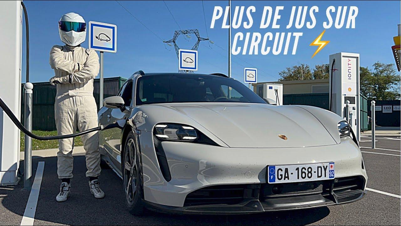 Je tombe en panne de batterie au Nurburgring - Roadtrip Taycan Turbo S TopGear Part1