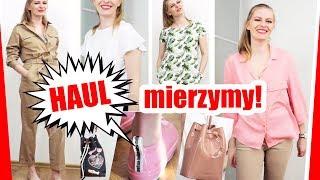 HAUL MIERZYMY Genialny kombinezon?! Melissa, polskie marki, sieciówki   trendy wiosna 2019