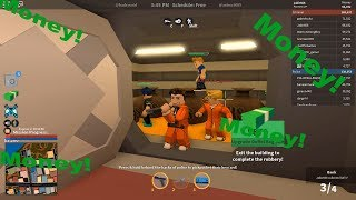 Roblox Jailbreak Robbing
