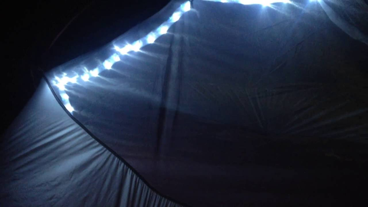 Tent Light Led String light for tent c&ing outdoor & Tent Light Led String light for tent camping outdoor - YouTube