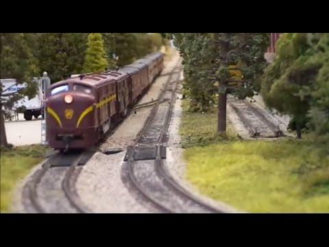 "HO Scale Pennsylvania Railroad""Model Railroad Club"" E.C.H.O.E.S"