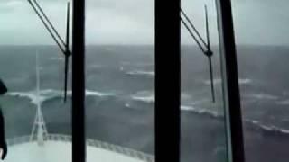 cyclone phet waves hit pakistan navy_s cruise ship near karachi.mp4