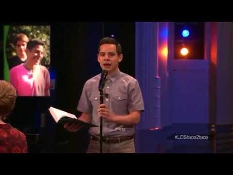 David Archuleta 04 The Spirit of God @ Live Chat (24 June 2014)