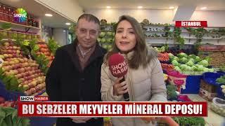 Bu sebzeler meyveler mineral deposu