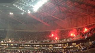 OL / Besiktas (Europa League 16-17) - Supporters turcs
