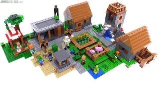 LEGO Minecraft The Village set review! 21128